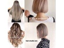 ヘアースタジオ ゼン(hair studio Zen)の雰囲気(素敵なデザインを提案します。)