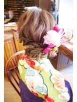 ベル(BELL)卒業式・髪型・着付・ヘアスタイル【BELL用賀/桜新町】