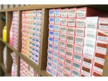 ヘアーアンドアイラッシュ チェイン(HAIR&EYELASH CHAIN)の雰囲気(300種類以上の豊富なラインナップ!新色も続々入荷予定♪)