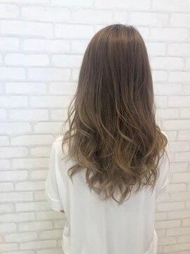 ビス ヘア アンド ビューティー 西新井店(Vis Hair&Beauty)ストレート/ナチュラル/ベージュ/大人かわいい/小顔/ラベンダー