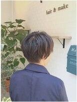 トーン 上大岡(tone.)丸みショート×アッシュベージュ