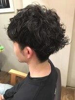 エイトヘアー(eight. hair)ランダム マッシュパーマ