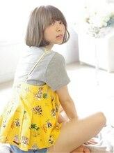 ヘアリゾート ブーケ(hair+resort bouquet)シンプルボブ×【イノセントブルーアッシュ】