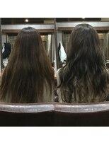 セブン ヘア ワークス(Seven Hair Works)[カラーベーシックコース]ブリーチなしミルクティーカラー