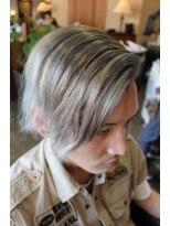 ディスパッチヘアー 甲子園店(DISPATCH HAIR)ハイトーンのロングシンサイ刈り