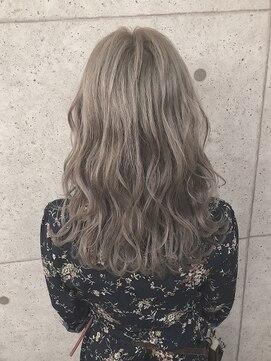 アールプラスヘアサロン(ar+ hair salon)透明感シアーベージュ☆