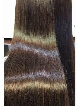 アリスバイヘアーモア(ALICE by Hair More)の写真/柔らかな上質ストレート【カット+ダメージレス縮毛矯正¥15.000】朝のお手入れもラクラク♪