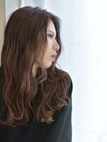 ヘアアンドメイク アリス(hair&make ALICE produce by COLT)グラデーションカラー×ピンクベージュ