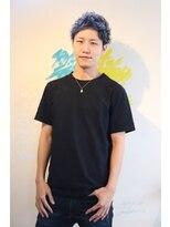 メンズヘアースパイス ユメサキ(Men's Hair SPICE -yumesaki-)太陽が似合うアップバングスタイル