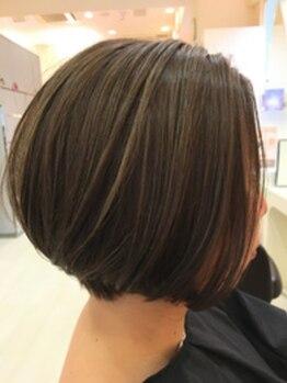 オレンジポップ 葛西店の写真/[いつまでもキレイと言われたい]髪質/白髪状態に合わせた薬剤調合【明るく染まる白髪染め】