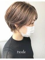 モッズヘア 仙台PARCO店(mod's hair)マスクでも大人可愛いショート◎