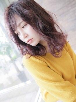 アニトライ(AnitoRai)の写真/【JR千里丘駅より徒歩2分★】ダメージレスカラーで褒められ髪に♪貴方に似合う旬の色を提供します◎