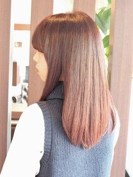 ビアンコ(bianco produce by L'Aube)の写真/【千早駅徒歩5分】クセやうねり、広がってまとまらない髪に◎憧れのサラツヤストレートを手に入れて♪