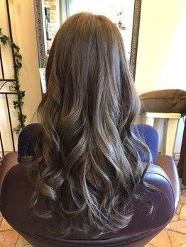 ヘア サロン サン クレスト(hair salon sun crest)の写真/≪アディクシーカラー取扱いサロン☆≫トレンドの外国人風カラーも sun crestにおまかせください♪