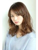 ヘアーメイク リアン 新田辺店(Hair Make REAN)エアリーウェーブの透け感カラー
