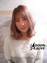 LAGOON ALIVE 亀田一磨 ☆オルチャンヘア☆