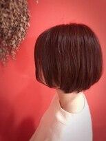 ライフヘアデザイン(Life hair design)外ハネセミロング