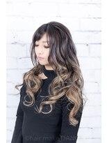 ヘアーメイク ダンス(hair make DANCE) #インスタバレイヤージュ +#edol カラー グレージュ