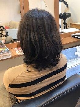 """ヘアデザイン キュアプラス(hair design cure+)の写真/【倉敷/粒浦】大人女性が憧れる『理想のスタイル』を""""オーダーメイド""""で実現。毛先までこだわる感動体験!"""