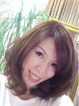 ヘアーサロン 謙 ジャパン(Hair Salon japan)の写真/ダメージレスで薬品臭さがない《コスメパーマ》+自慢の彫刻のようなカット技術でふわりと優しいSTYLEへ★