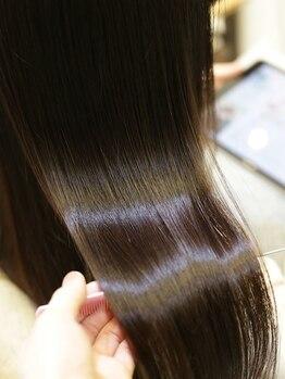 プレミアムオーファ(Premium Ofa)の写真/表面だけではなく芯までキレイに!「オーファ金町のオリジナルトリートメント」で髪質改善☆