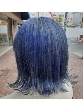 ソイル ヘアー(soil hair)ネイビーグレー