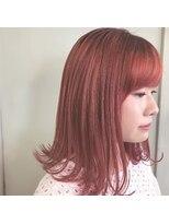 ヘアーアイス(HAIR ICI)チェリーレッドグラデーションカラー