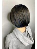 ソース ヘアアトリエ 梅田(Source hair atelier)【SOURCE】インナーカラーブルー