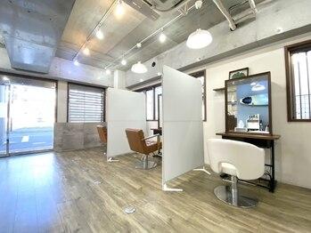 ライフ 湘南台(Life)の写真/全席半個室の落ち着いた空間で周りを気にせずリラックス♪何でも相談しやすく「なりたい」を叶えてくれる☆