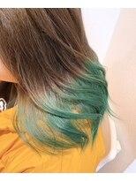 Green Color Gradation