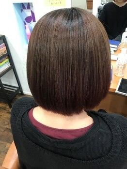 アルコ イリス(Arco Iris)の写真/Arco Irisの酸性ストレートは、内閣府公認 日本毛髪化学協会 毛髪診断士が生み出した縮毛矯正を使用