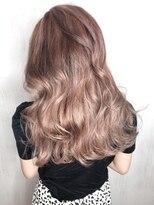 ソース ヘア アトリエ(Source hair atelier)【SOURCE】ピンクベージュ