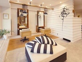 サンドアンドローズ(sand rose)の写真/まるでセカンドハウスに来てるかのような感覚に♪ゆとりを持って設計した開放的な店内にはこだわりが沢山!