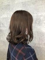 グランジュテ ヘアアンドスパ 新検見川(GRAND JETE Hair&Spa)ミディアムボブ♪ 新検見川