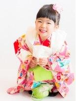 ヘアーサロン ラフリジー(Loufreasy)七五三、3歳のお子様の着付け・ヘアセット・メイク 5990円