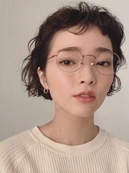 シーカ ニカイ(siika NIKAI)の写真/中目黒2分◆カラーと絶妙な相性のパーマで貴女の雰囲気と魅力を引き出す。独自の感性で期待以上の仕上がり