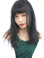 フェス カットアンドカラーズ(FESS cut&colors)【ナチュラルセミディ×シルバーグレー】『FESS 鶴丸』