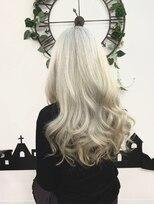 ヘアーサロン エール 原宿(hair salon ailes)(ailes 原宿) パールホワイト