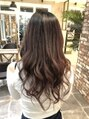 オーブ ヘアー エイミ 福岡七隈店(AUBE HAIR amy)ピンク系のカラーが得意です。