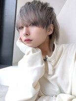 アルバム シンジュク(ALBUM SHINJUKU)メンズナチュラルウルフ_ピンクベージュクールショート_78109