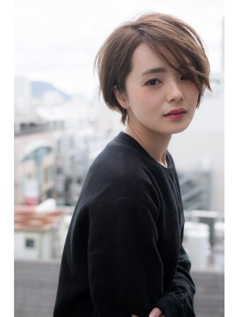 ココモ(KOKOMO)≪2017年夏トレンド★≫透明感パールアッシュな大人ショート