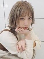 シャチュー(SHACHU)【MORIYOSHI】大人気☆ミルクティベージュ×レイヤーロブ