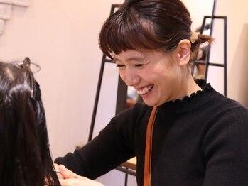 """ジジ ラ ポルト ルージュ(JiJI la porte rouge)の写真/""""私に似合うヘアって…?""""そんなお悩みは【stylist棚橋 春菜】にお任せ!JiJIで見つける自分史上最高のstyle"""