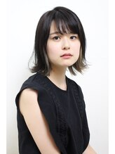 ヘアデザイン エソラ(hair design esora)bob point color smoky.ash 12.