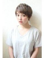 アンアミ オモテサンドウ(Un ami omotesando)【Unami】フリンジバング×柔らかベビーショート 島田