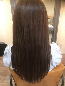 アイエヌジー(i.n.g)の写真/髪質が劇的に変わる《ストリートメント》縮毛まではしたくない…ノンダメージで気になるくせ/うねりを改善!