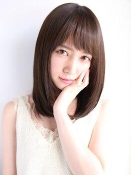 マハロ(MAHALO)の写真/エイジングケア効果☆☆☆上質トリートメント≪Aujua≫でハリ・コシ・ツヤをUP。若々しい髪へ導きます。