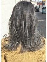 ヘアスペース エコ(Hair Space Eco)バレイヤージュ・アッシュカラー