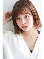 ネイヴィル(navile)☆シースルーカラー小顔外ハネボブ☆navile大河光太朗