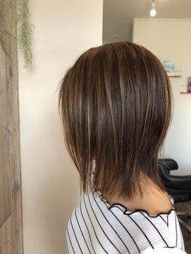 ルアナヘアーアンドスパ(Luana hair&spa)ミデイアム3Dハイライト
